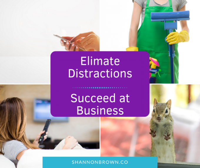 Working From Home: Stop Time-Draining Distractions