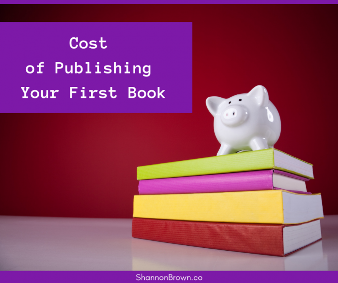 Cost Of Publishing Your First Book