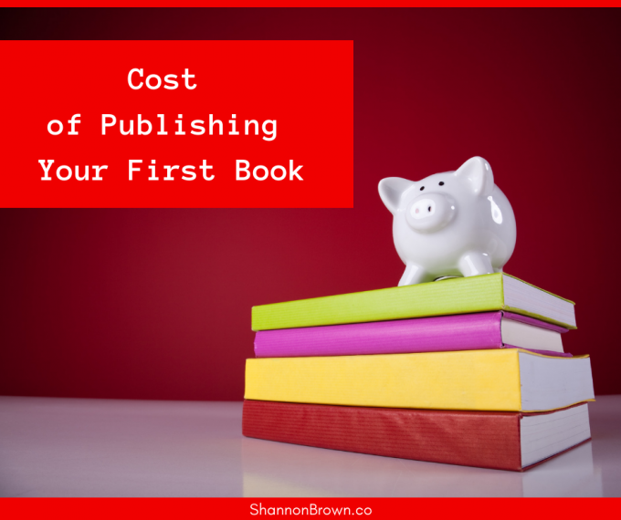 Costs Of Your Publishing Your First Book