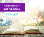 Advantages Of Self-Publishing