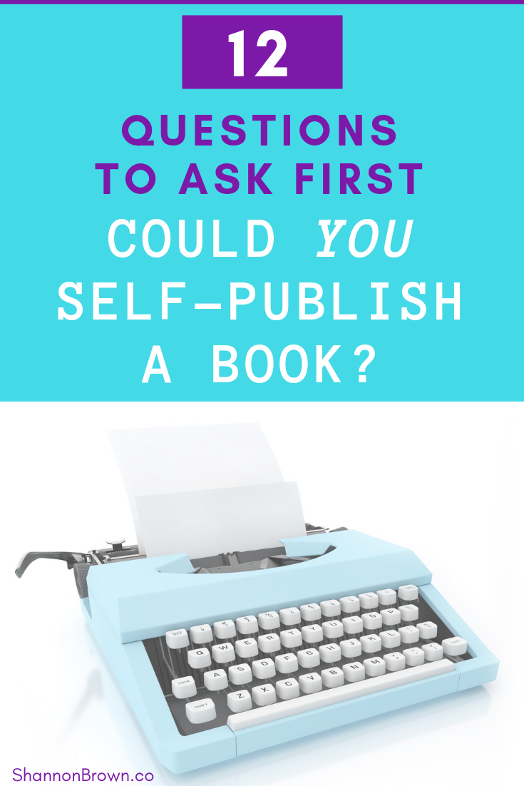 Could You Self-Publish a Book