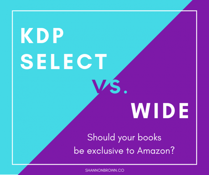 KDP Select Vs Wide: Amazon Exclusive Or Using Many Booksellers?