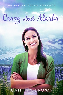 Crazy About Alaska - Woman with wildflowers