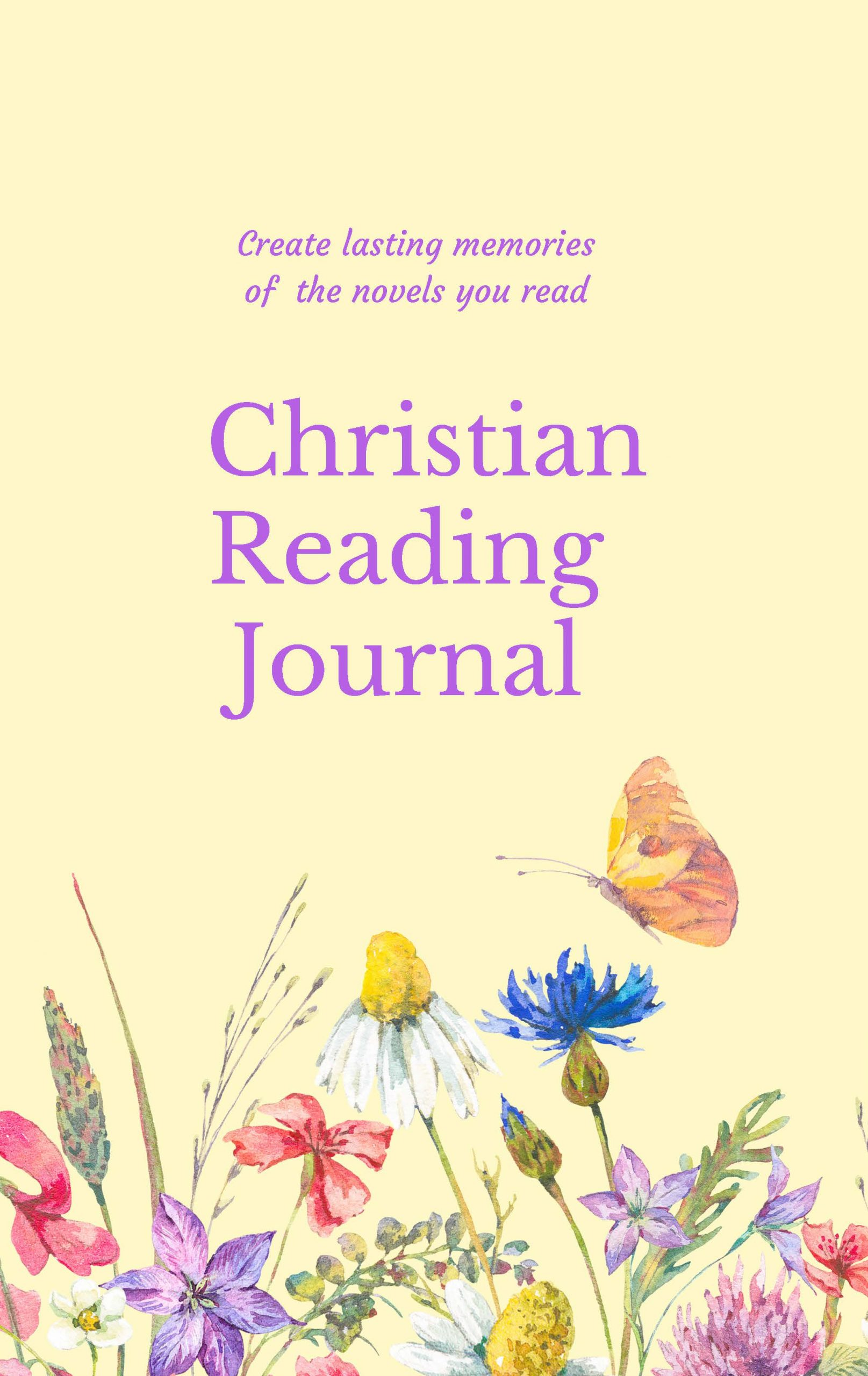 Book Cover: Christian Reading Journal